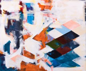 Harlequin no. 3, 2010, acrylic on canvas