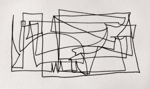 04-01-19-8:43PM, pen and ink