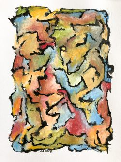 04-14-19-10:55AM Gouache and India ink on paper