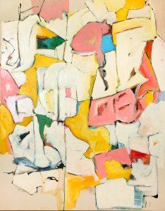 Untitled, 2016 Acrylic on canvas, 36 x 46