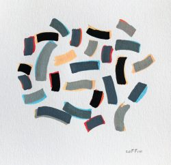 04-25-20-9:56am Acrylic pen on paper, roughly 5 x 5 inches