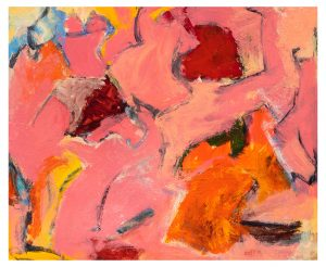 Beach, 06-12-20 acrylic on paper, 17 x 14 inches