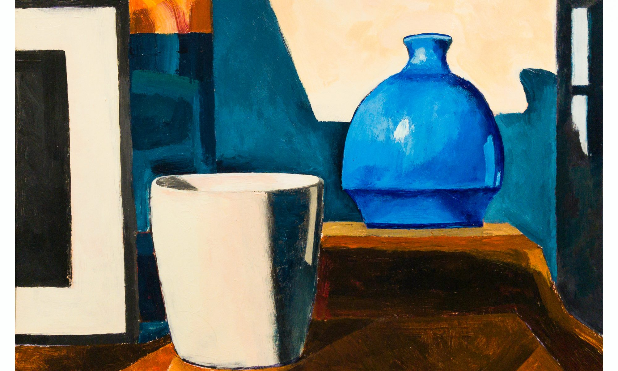 Still Life with Blue Bottle, 8/20