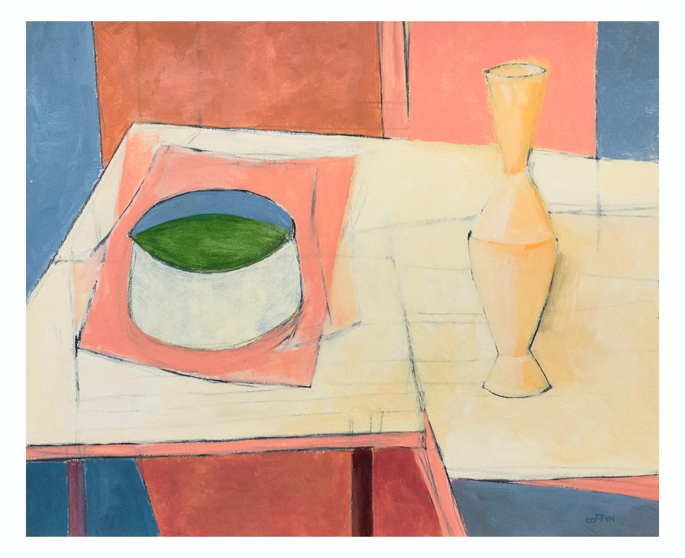Still Life with Brass Vase, 10/20