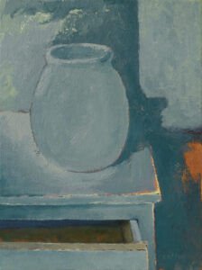 Still Life, August 2021 Acrylic on canvas, 12 x 9 inches